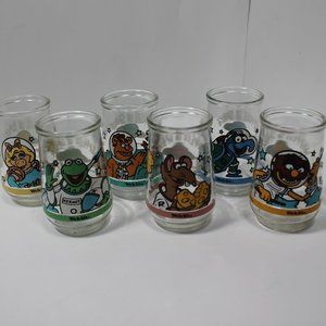 1998 Muppets in Space Welch's Jelly Jars
